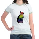 Rainbow Gay Pride Cat T-shirt
