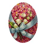 porcelain easter ornament