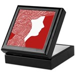 Red Lady Jewlery Box