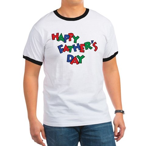 Product Image of Happy Fathers Day Ringer T
