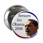 Seniors for Obama 2008 (Button)