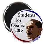 Students for Obama Fridge Magnet