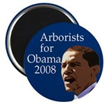 Arborists for Barack Obama Magnet