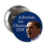 "Arborists for Obama 2.25"" Button"