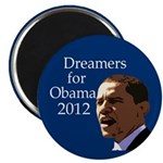 Dreamers for Obama 2008 Magnet