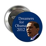 Dreamers for Obama 2008 Button