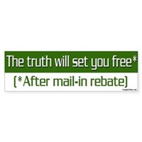 The Truth Will Set You Free After Mail-In Rebate