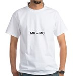 MR = MC  White T-Shirt