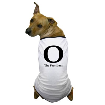 O: The President Dog Obama T-Shirt
