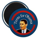 Teens for Obama Refrigerator Magnet