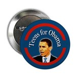 "Teens for Obama 2.25"" Button"