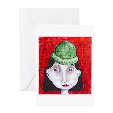- Deborah  Greeting Card by CafePress