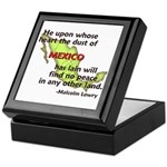 Dust of Mexico... Keepsake Box