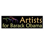 Artists for Barack Obama bumpersticker