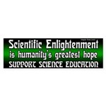 Science Education Bumper Sticker