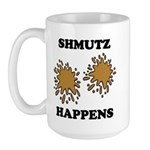 Shmutz Happens Large Mug
