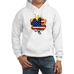 Irish Firefighter Shamrocks Hooded Sweatshirts and Apparel