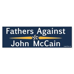 Fathers Against John McCain bumper sticker