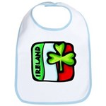 Irish Flag of Ireland Bib
