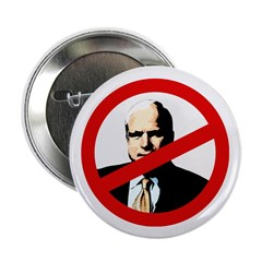 Not McCain for President Campaign Buttons