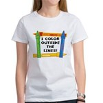 Color Outside The Lines Women's T-Shirt