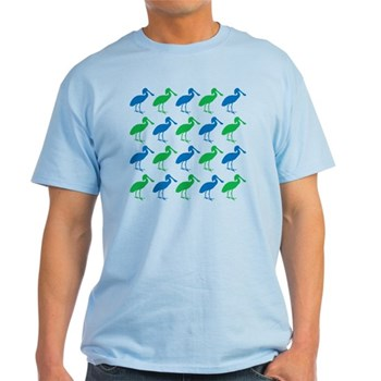 Pop Art Spoonbill Pattern T-Shirt