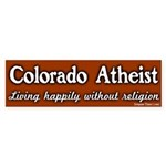 Colorado Atheist Bumper Sticker
