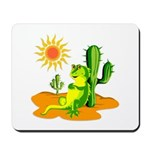Iguana in the Desert Mousepad