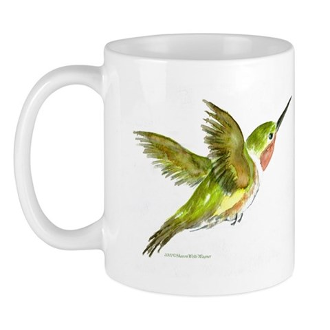 Hummingbird  Art Mug by CafePress
