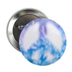 Watercolor Peace Sign Button