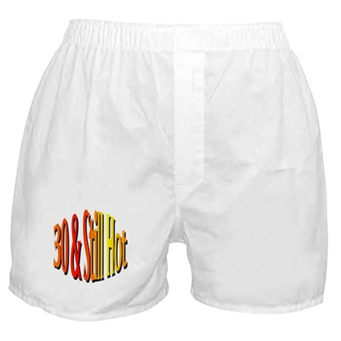 30th Birthday  Party Boxer Shorts by CafePress