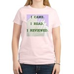 I Came. I Read. I Reviewed T-Shirt