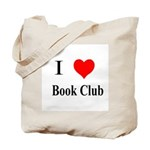 I Heart Book Club Tote Bag
