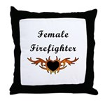 Female Fire Fighter Flame Tattoo personalized on gifts, apparel and tote bags.