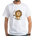 Roar (Lion) White T-Shirt