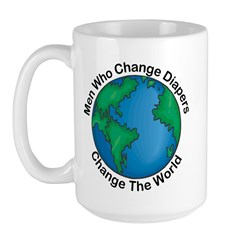 Men Who Change Diapers Large Mug