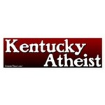 Kentucky Atheist Bumper Sticker