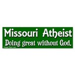 Missouri Atheist Bumper Sticker