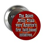 Salem Witch Trials Souvenir Button