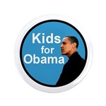 "Kids for Obama 3.5"" Button"