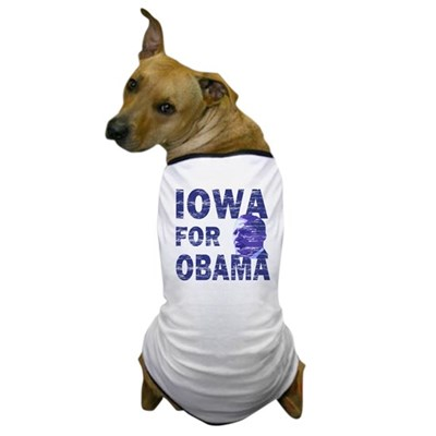 Iowa for Obama Dog USA T-Shirt