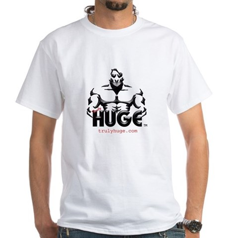 Bodybuilder T-Shirt Bodybuilder White T-Shirt by CafePress