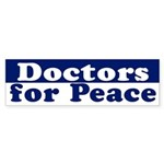 Doctors for Peace (bumper sticker)