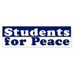 Students for Peace (bumper sticker)