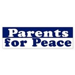 Parents for Peace (bumper sticker)