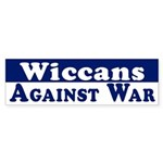 Wiccans Against War (bumper sticker)
