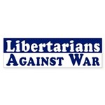 Libertarians Against War car sticker