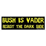 Bush is Vader Bumper Sticker