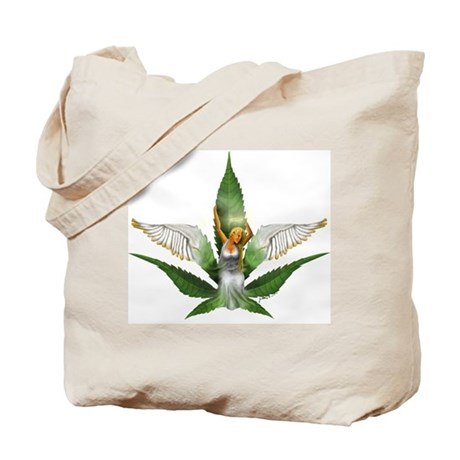 Sativa Goddess! Marijuana! Hemp! Tote Bag