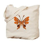 Butterfly Tattoo Personalized Tote Bags